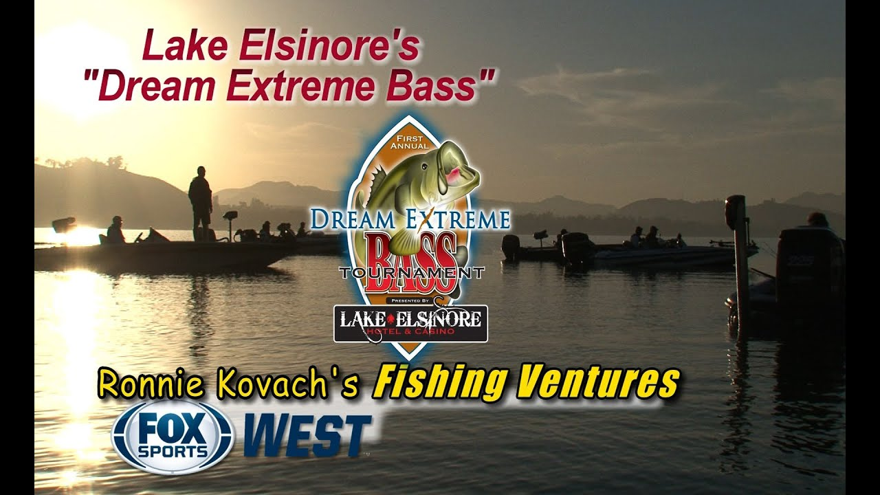 Lake elsinore 39 s 1st annual dream extreme bass tournament for Lake elsinore fishing report