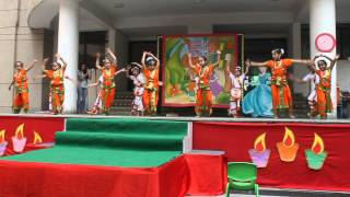 Special Theme Assembly by Kindergarten children on 26.10.2013