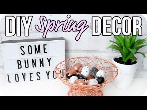 DIY Spring Room Decor 2017! Cute & Cheap!