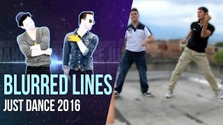 just dance 2016 unlimited blurred lines