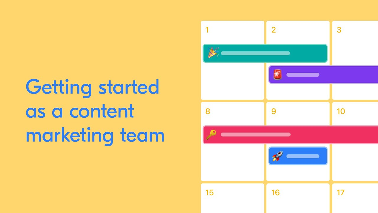 Webinar: Getting started as a content marketing team