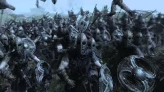 Repeat youtube video Skyrim - Sauron vs Stormcloaks