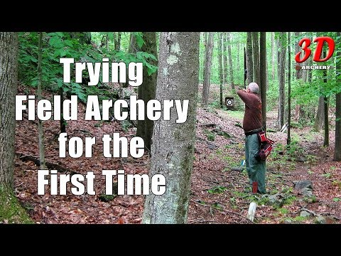 3D Archery - First time trying Field Archery