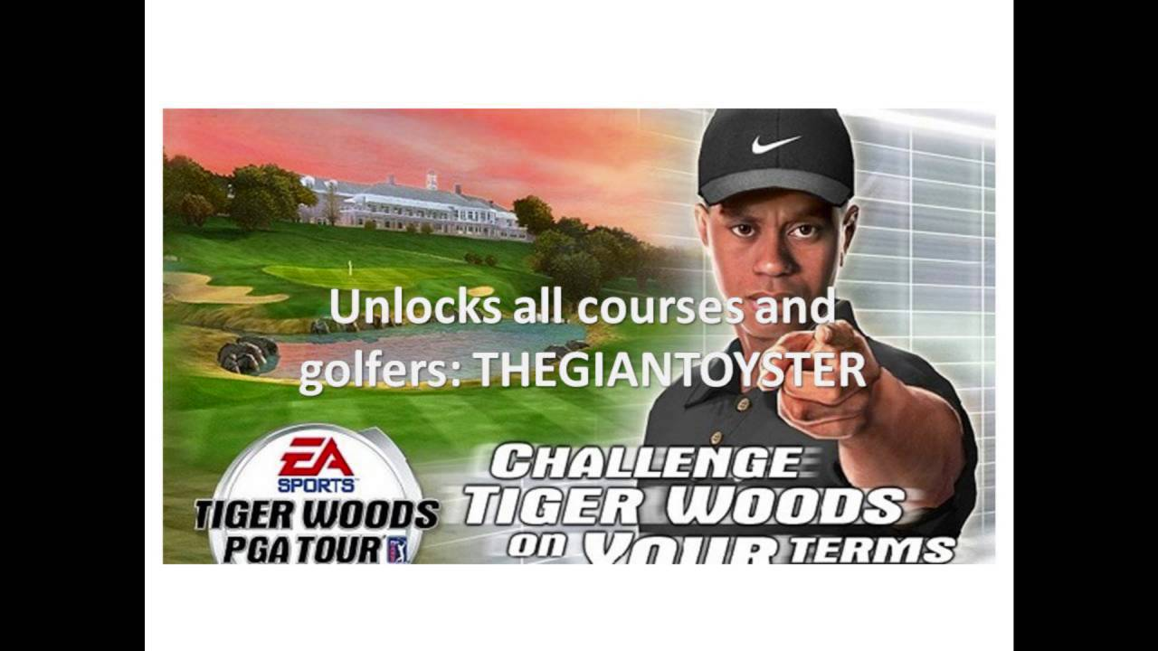 Tiger Woods Pga Tour 2005 Cheats Codes For Xbox