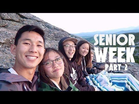 MY FRIENDS GRADUATED! [Dartmouth graduation + sunrise hikes] | SENIOR WEEK 2017 VLOG PT.2