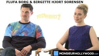 flula borg birgitte hjort srensen game of thrones interview exclusive pitch perfect 2