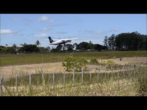 Movimento no Aeroporto de Teixeira de Freitas - Bahia