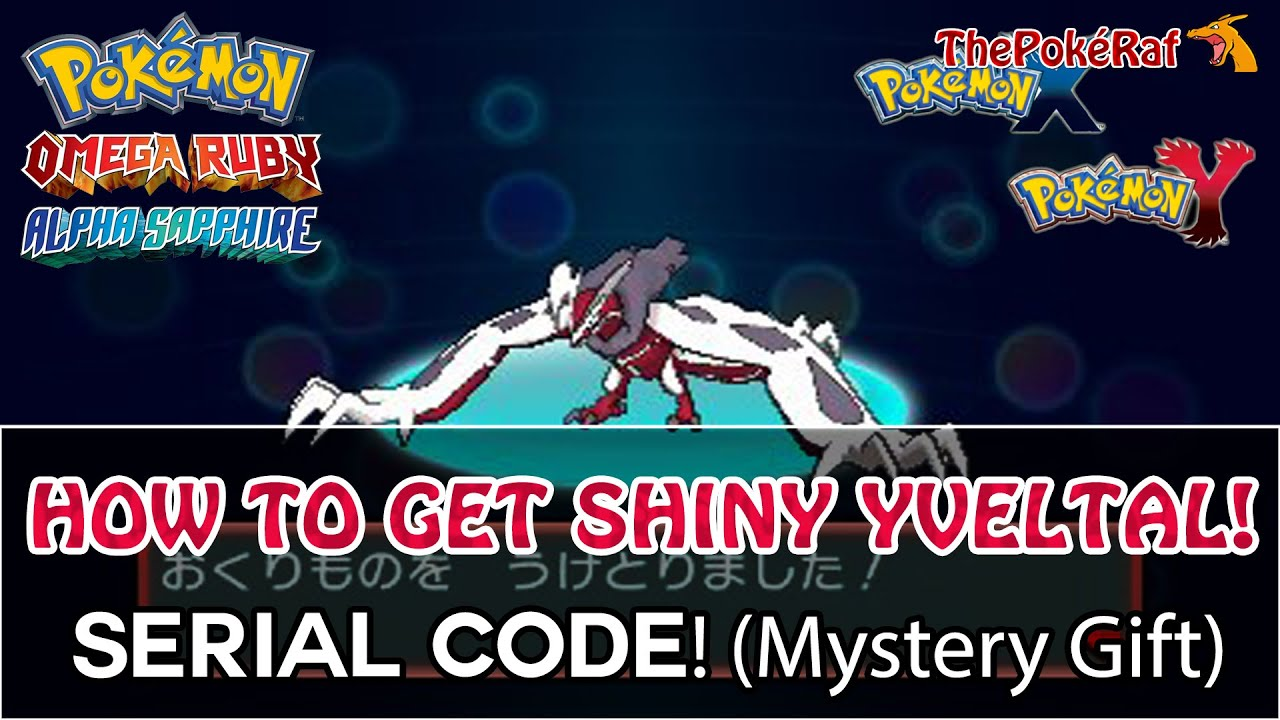 Pokémon Omega Ruby and Alpha Sapphire | How To Get Shiny Yveltal ...