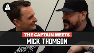 The Captain Meets Mick Thomson (Slipknot) - Backstage at The London O2 Arena!