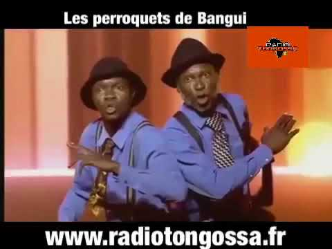 Les perroquets de Bangui au demi-finale de l'Afrique à un incroyable talent