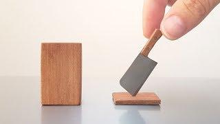 Mini MEAT CLEAVER - Worlds Best Fridge Magnet - BrainfooTV