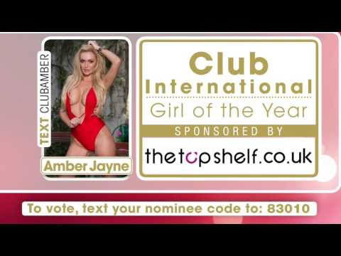CLUB INTERNATIONAL GIRL OF THE YEAR NOMINEES 2017 PROMO VIDEO - PRP AWARDS 2017