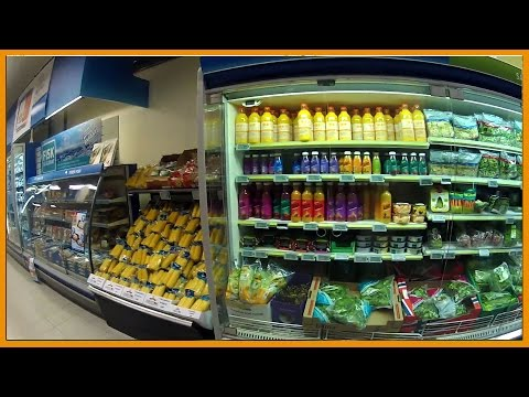 A TRIP TO THE SUPERMARKET IN NORWAY - AISLES OF DEAD FOOD AND LOW QUALITY FRUITS AND VEG