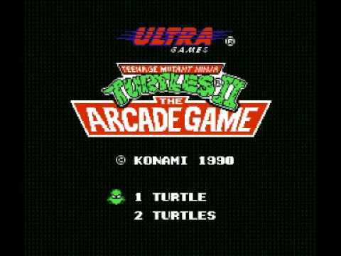 Teenage Mutant Ninja Turtles 2 - The Arcade Game (NES) Music - Boss Battle