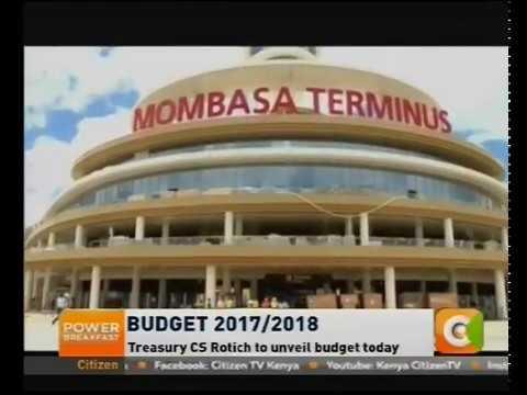 Budget estimates- Kshs. 2.62 Trillion
