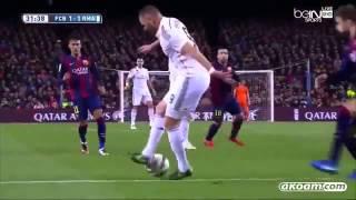 الكلاسيكو برشلونة 2×1 ريال مدريد كاملة بتعليق عصام