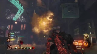 """Call of duty Black ops 3 zombies-""""SHADOWS OF EVIL"""" full easter egg 4 players live stream!"""