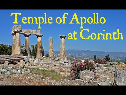 Temple of Apollo - Ancient Corinth