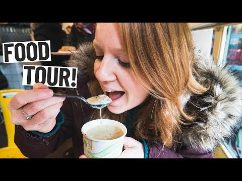 Seattle FOOD TOUR! Chowder, Coffee, Pastries and MORE! (Pike Place Market)