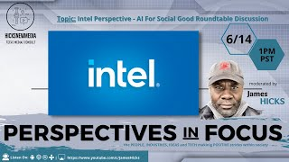 Intel Perspective - AI For Social Good Roundtable