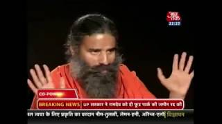 Swami Ramdev Ji sharing his thoughts on Swadeshi Samriddhi Card