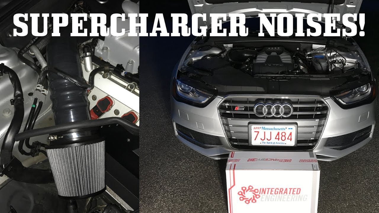 Integrated Engineering Intake for my S4!