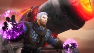 Warlords of Draenor ingame cinematics (russian)