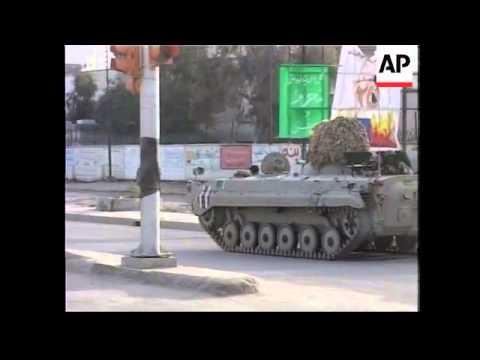 Iraqi troops clash with militia in southern Iraq