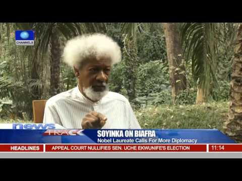 Call For Biafra: Nobel Laureate Calls For More Diplomacy 08/12/15