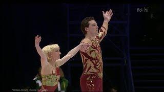 "[4K60P]  Aliona Savchenko and Stanislav Morozov 2002 SLC SP ""Sabre Dance"""