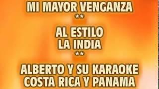 mi mayor venganza karaoke la india