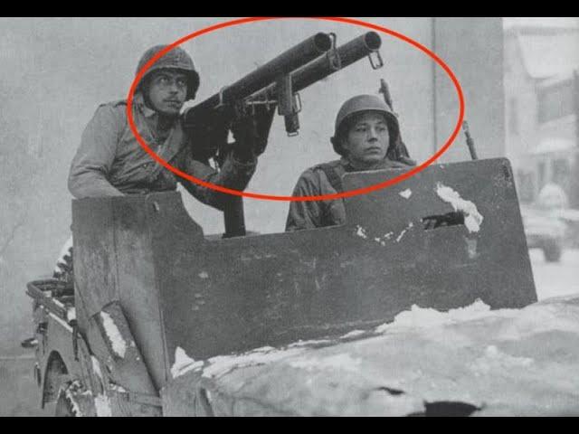 WW2 Bazooka & Rocket Jeeps