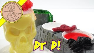 Doctor Dreadful Food Lab, I Make Monster Brains & Skin!