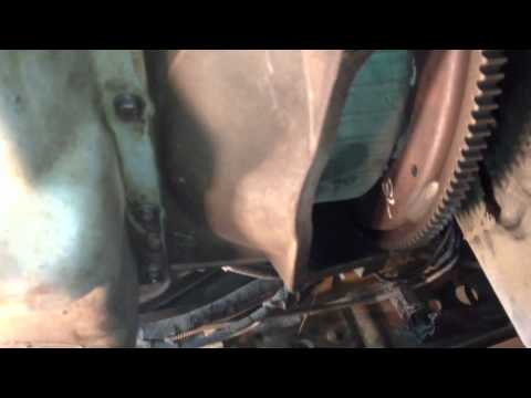 Project powerstroke TRANSMISSION REMOVAL