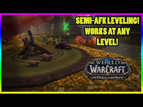 Simple Easy Leveling Semi-AFK With Pet Battles!
