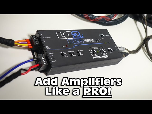 Add amplifiers like a PRO! AudioControl LC2i-PRO overview