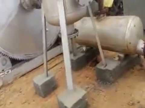 Fine Fabrication Works Tyre Plant Video