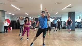 """Me Voy"" Rombai Cumbia Argentina Zumba Fitnesses choreography by Zumba in London with Papi UK"