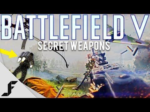Battlefield V Secret Weapons of WWII