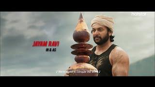Bhoomi l Official Trailer l Jayam Ravi l Releasing 14th Jan 2021