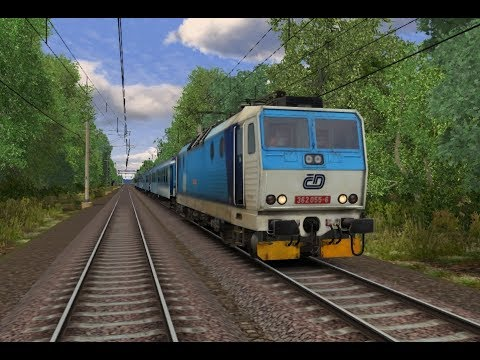 Train Simulator 2017 | Olomouc - Zábřeh na Moravě