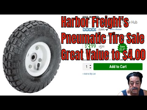 Harbor Freight - Pneumatic Tire Sale Discussion