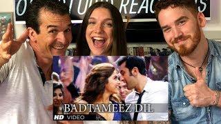 Badtameez Dil Song REACTION Ranbir Kapoor Deepika Padukone