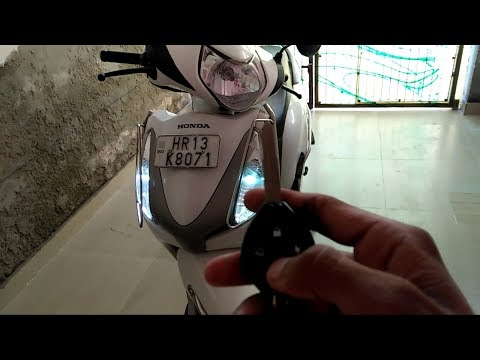 Anti theft security alarm for motorcycle and scooter |honda aviator