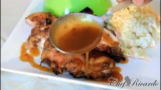 How To Make Jerk Chicken Sauce Are (Gravy) At Home