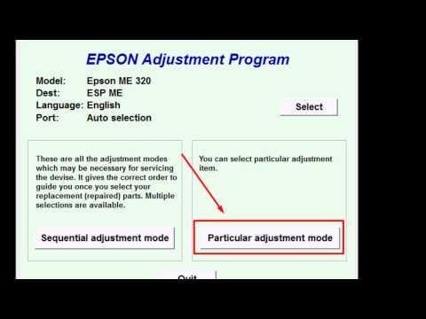 Cara Mereset Printer EPSON ME 32 dan T13