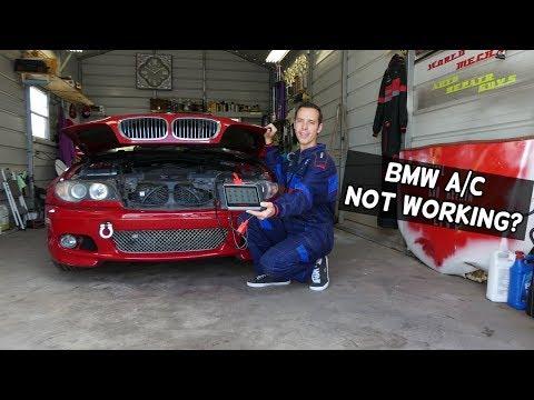 BMW AC BLOWS HOT AIR | HOW TO FIX CAR A/C THAT BLOWS HOT AIR
