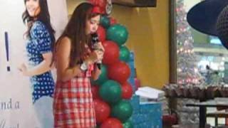 Charice - O Holy Night at Thanksgiving Party