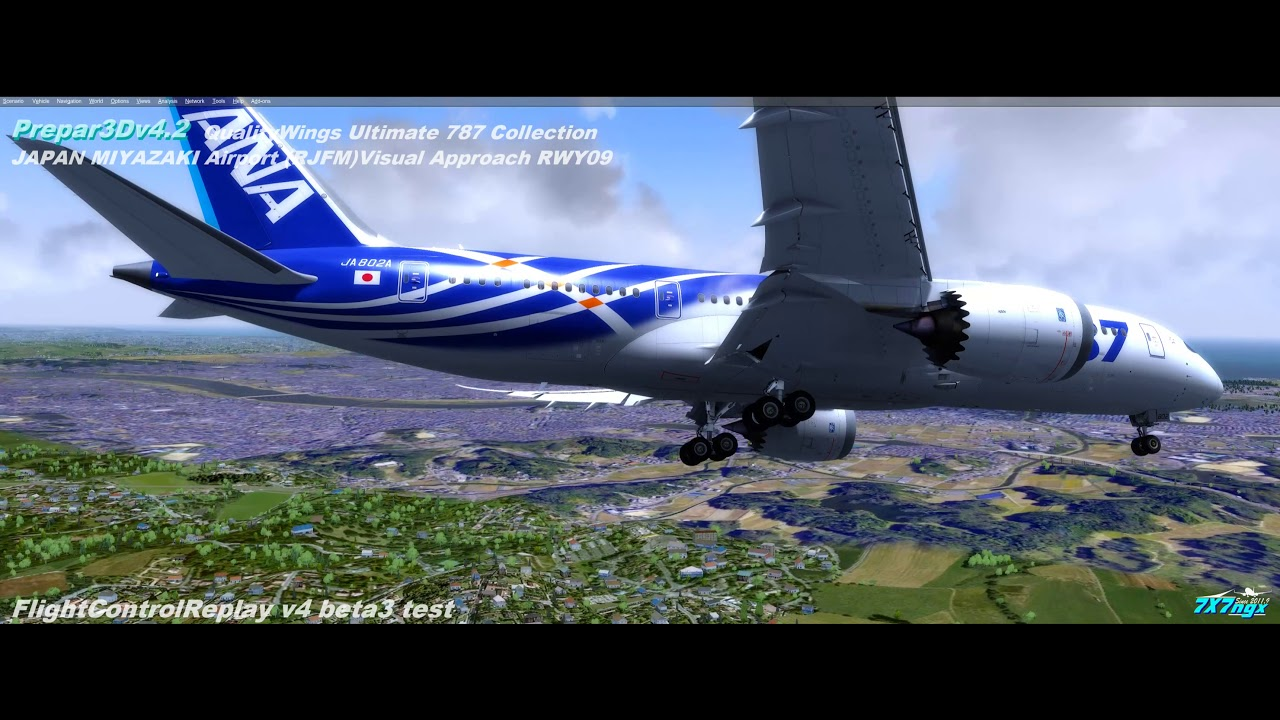 QualityWings Ultimate 787 Collection P3Dv4 2 by 7X7ngx