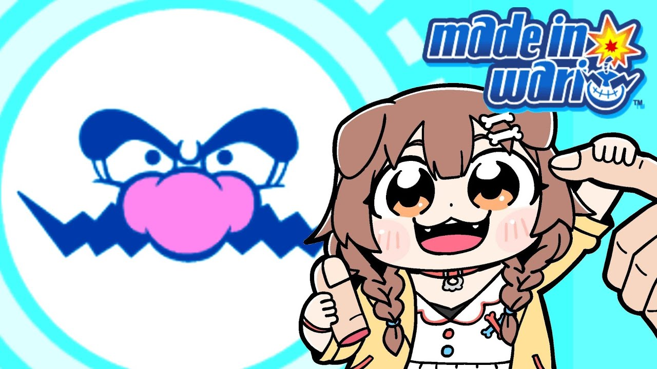 [GBA]De first look ☆ Play with Made in Wario!  !!